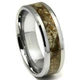 Carbide Earth Riverstone Wedding Ring