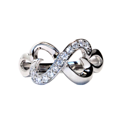 Infinity Promise Ring Front