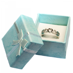 5 Hearts Promise Ring in Box