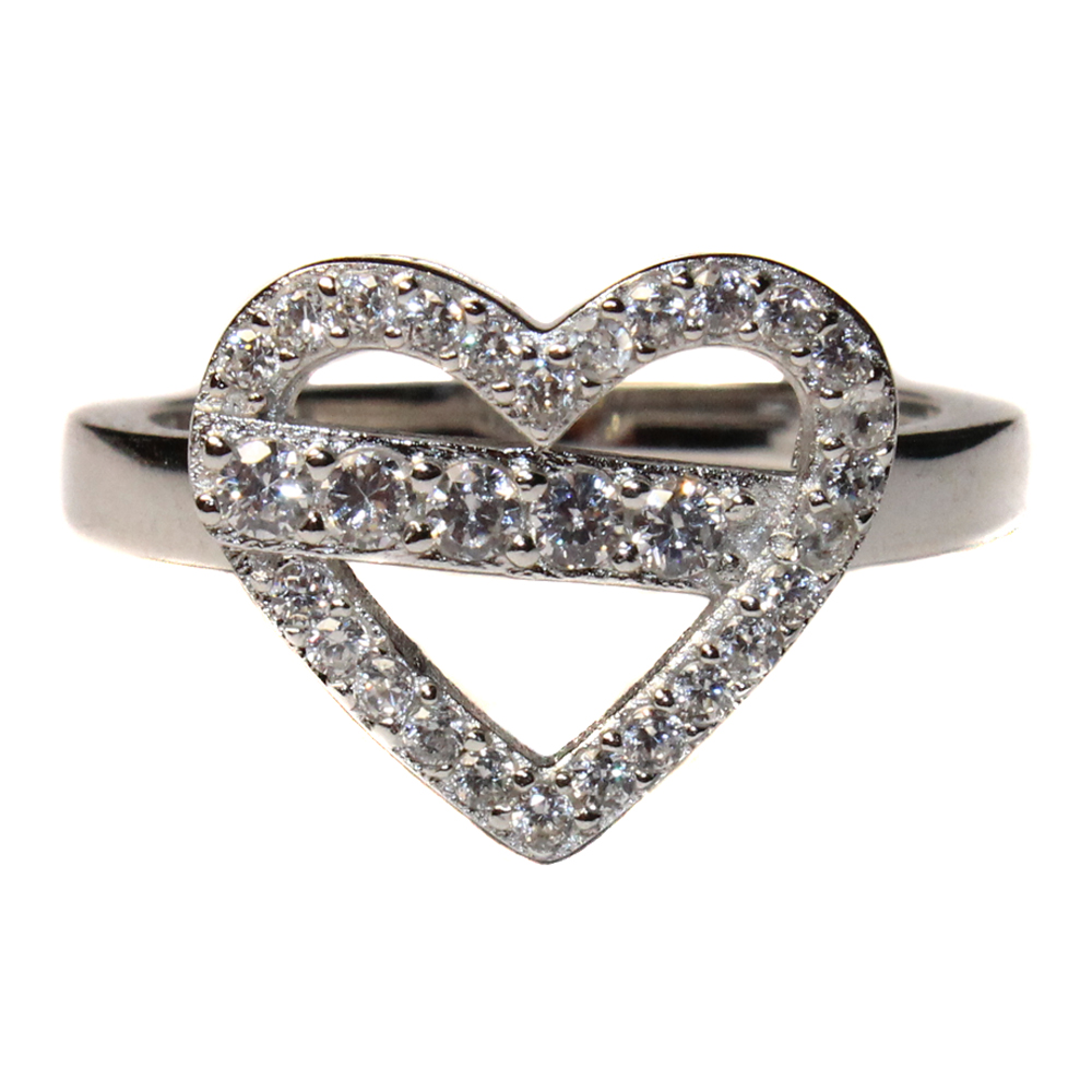 diamond heart shaped promise ring beautiful promise rings. Black Bedroom Furniture Sets. Home Design Ideas