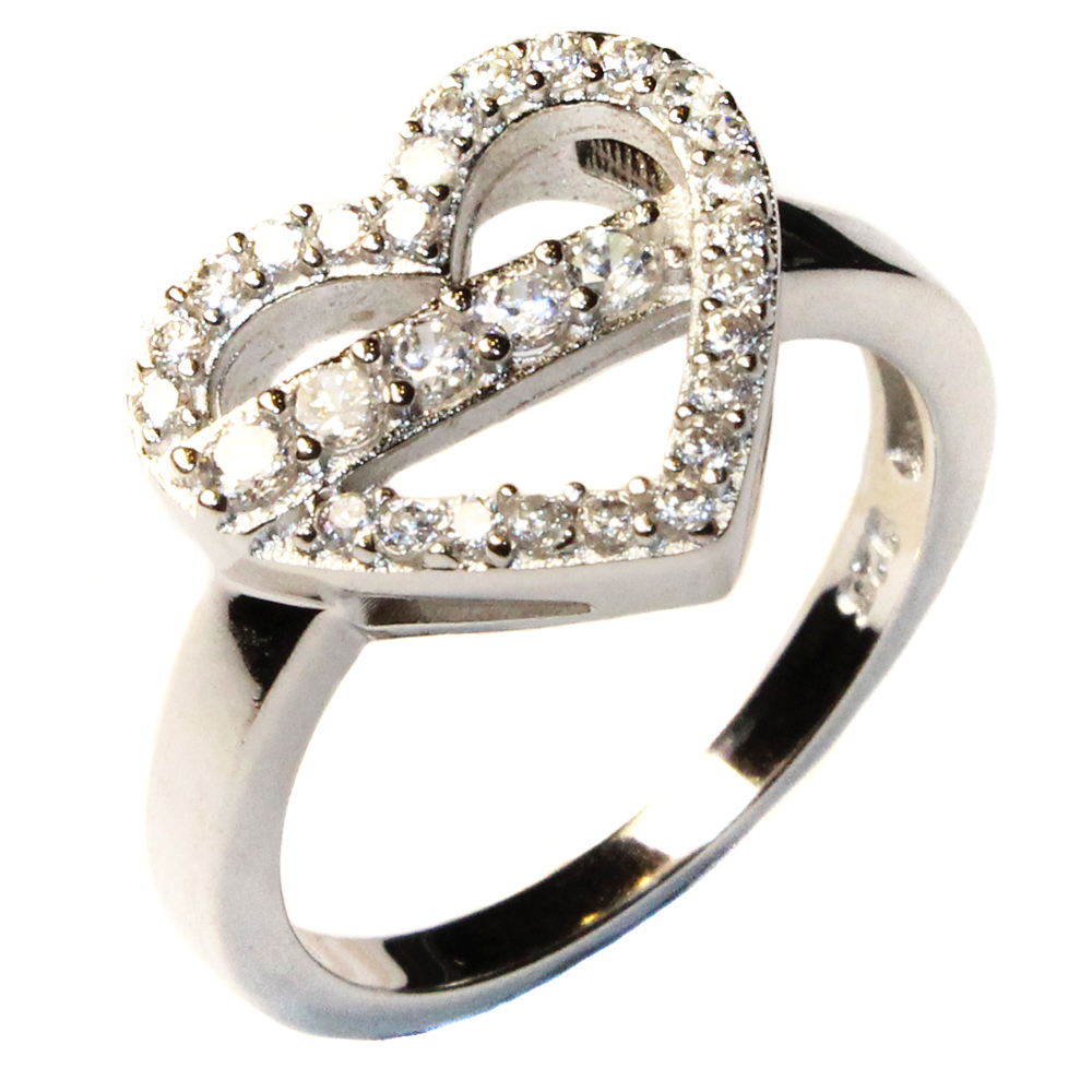 pin promise ring halo net on