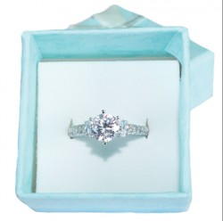 Diamond Promise Ring in Box