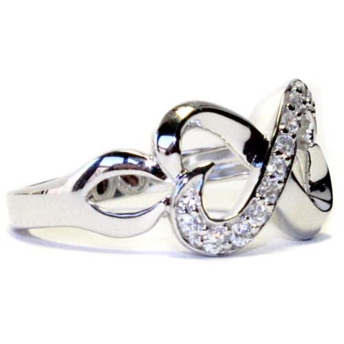 Infinity Promise Ring Side