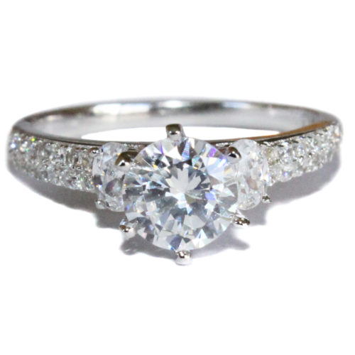 Diamond Promise Ring Front